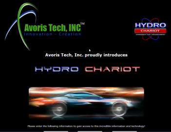 Avoris Tech Landing Page