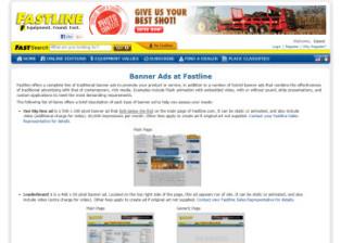Fastline Banner Ads