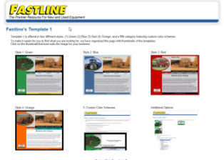 Fastline CustomerTemplate