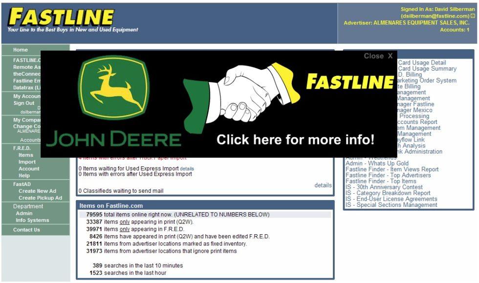 John Deere/Fastline Animated Banner Ad