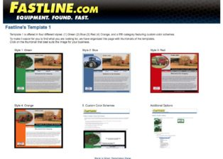 Fastline's Template 1